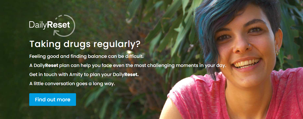 Amity DailyReset Campaign