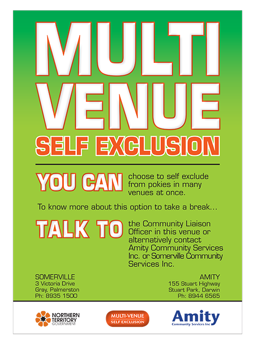 Multi-venue-self-exclusion