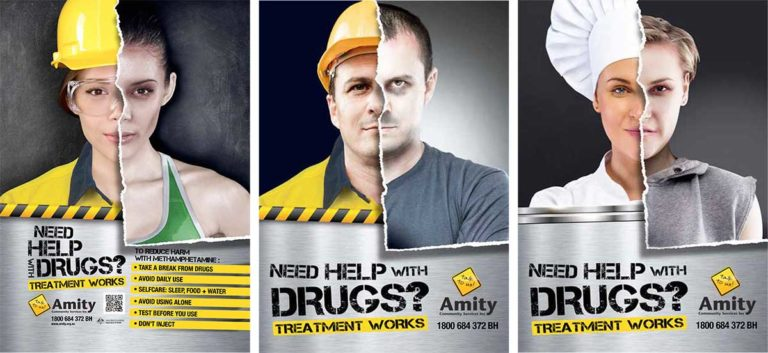 Methamphetamine posters – Treatment works